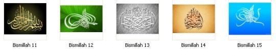 Label Bismillah 11-15