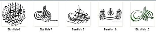 Label Bismillah 6-10